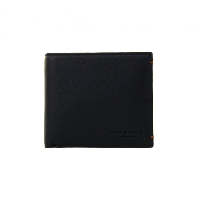 38bf9e548 ted baker mens dave colour bi fold leather coin wallet navy from loofes uk