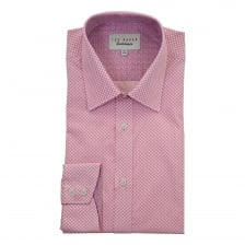 Ted Baker Mens Drake Endurance Timeless Shirt (Pink)