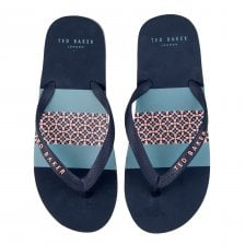 149c1c889dad Ted Baker Mens Dyive Flip Flops (Dark Blue)