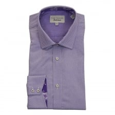 Ted Baker Mens Eager Endurance Sterling Shirt (Purple)