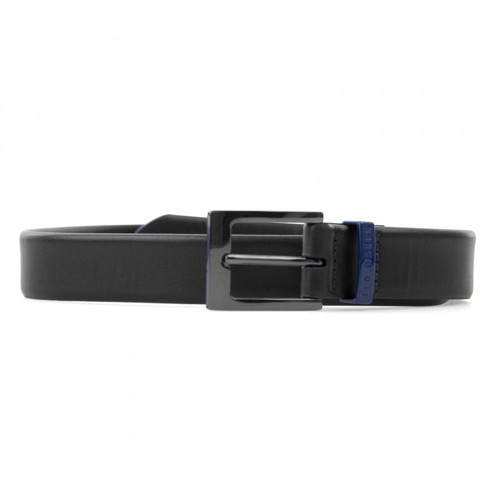 7eae16726 Ted Baker Mens Eastwood Formal Wrap Belt (Black Blue) - Mens from ...