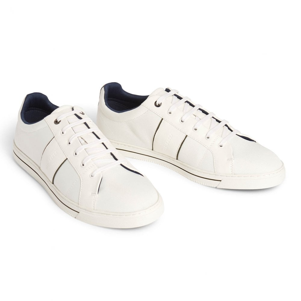 ted baker white tennis shoes
