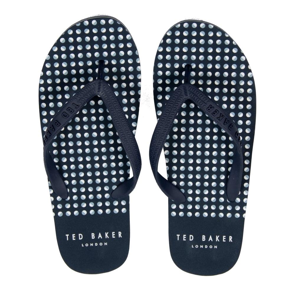 Ted Boulanger Flip Flops De Logo - Bleu Marine 1n7JjYjPn