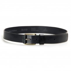 Ted Baker Mens Jeebelt Texture Leather Jean Belt (Navy)