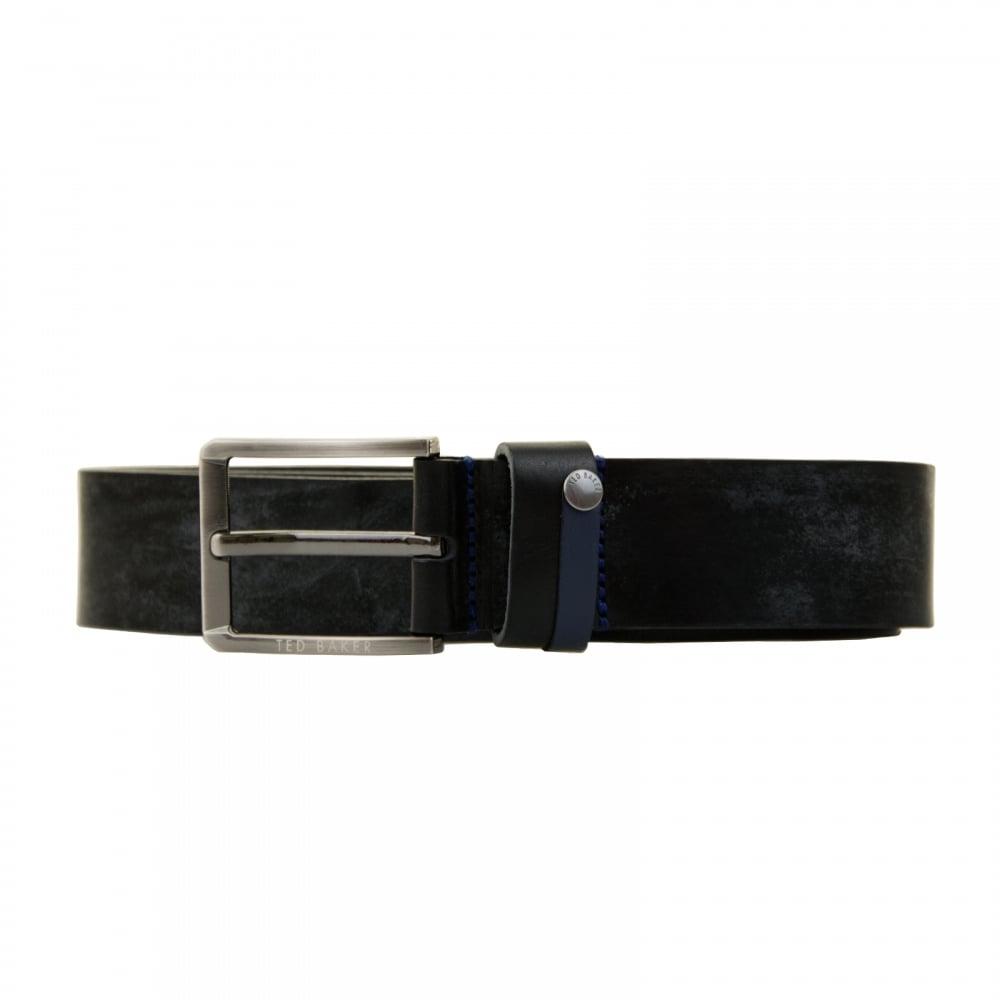 fedea3b4a Ted Baker Mens Keepsake Contract Keeper Belt (Black) - Mens from ...