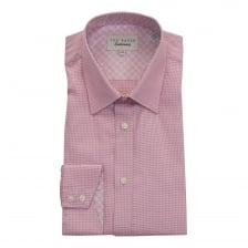 Ted Baker Mens Quame Endurance Timeless Shirt (Pink)