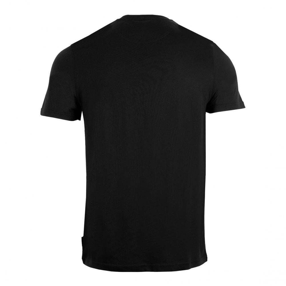 763ef09d Ted Baker Mens Rooma Short Sleeve Solid Branded T-Shirt (Black ...
