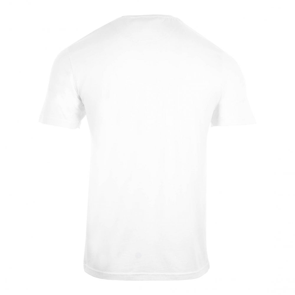 ad2459c80 Ted Baker Mens Rooma Short Sleeve Solid Branded T-Shirt (White ...