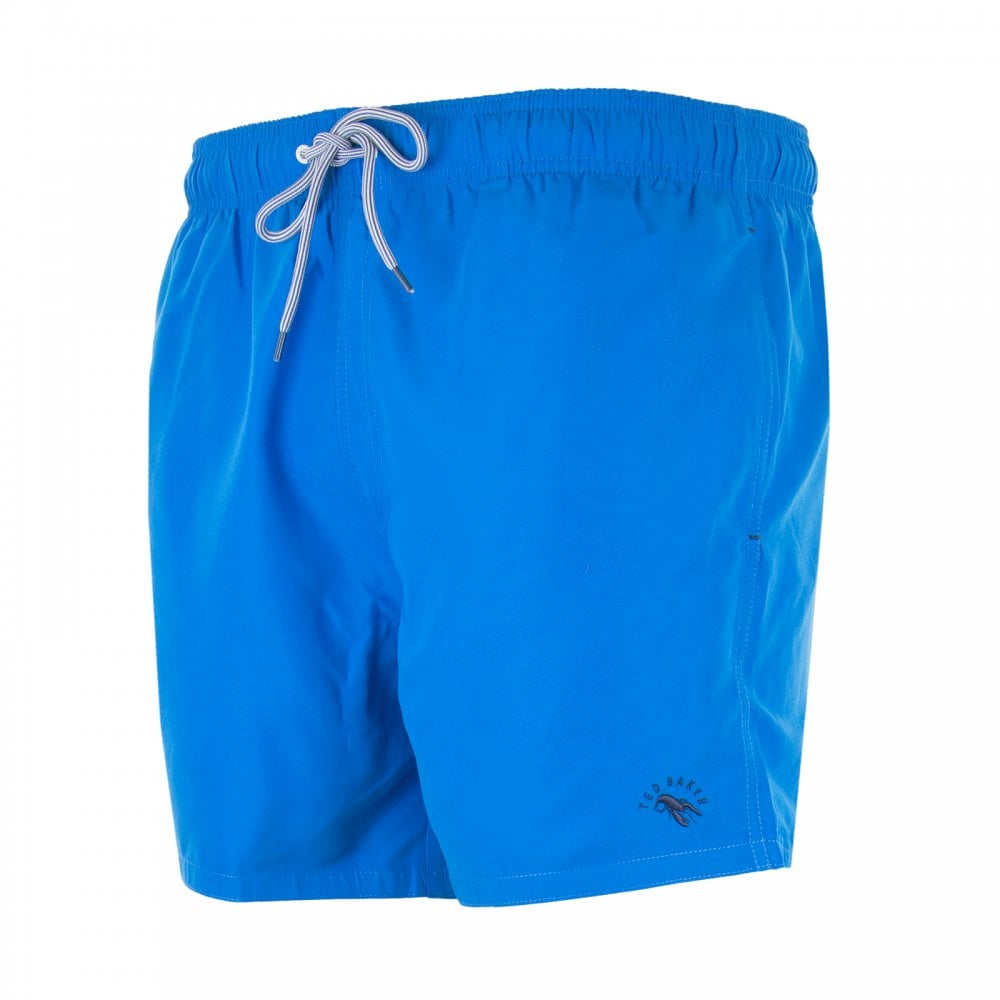 68010cccc4 Ted Baker Mens Seasidy Plain Swimshorts (Blue) - Mens from Loofes UK