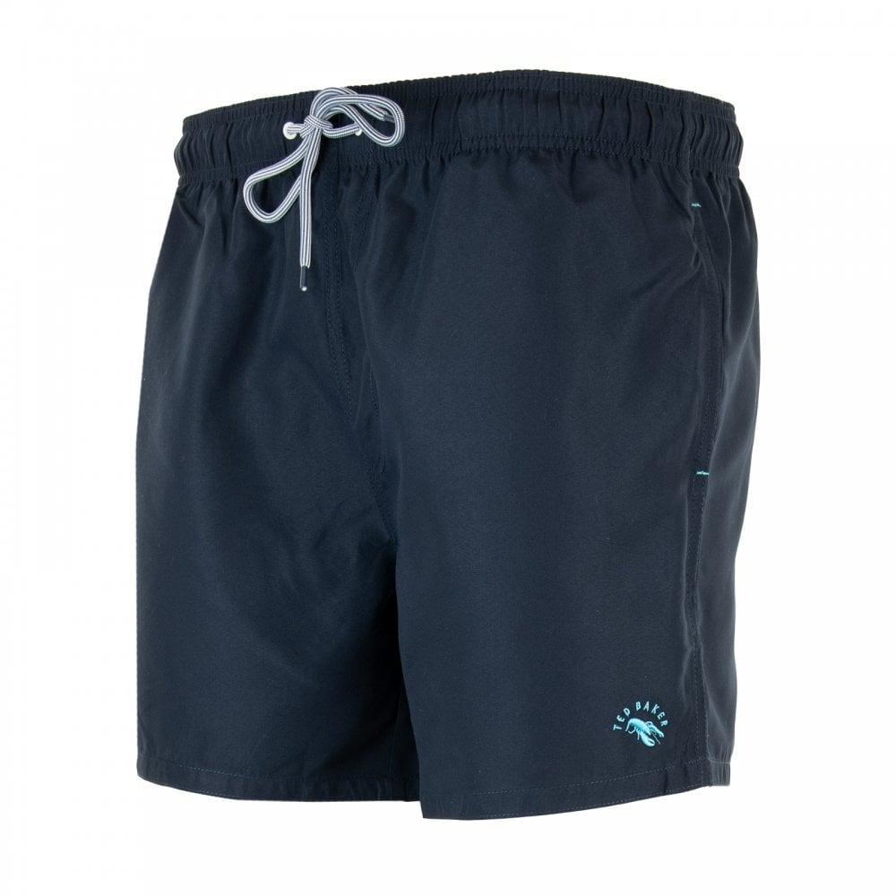 73a44b1702e608 Ted Baker Mens Seasidy Plain Swimshorts (Navy) - Mens from Loofes UK