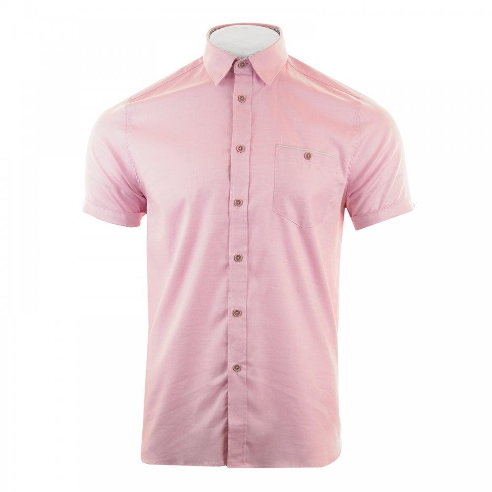 042e7eb10 Mens Wallabi Oxford Sleeve Shirt (Pink)