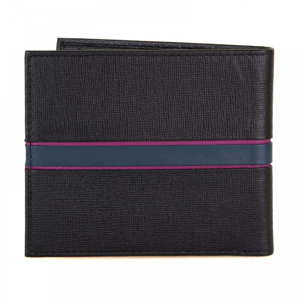 6a726786e98 Ted Baker Musta Blocking Bifold Wallet (Black) - Mens from Loofes UK