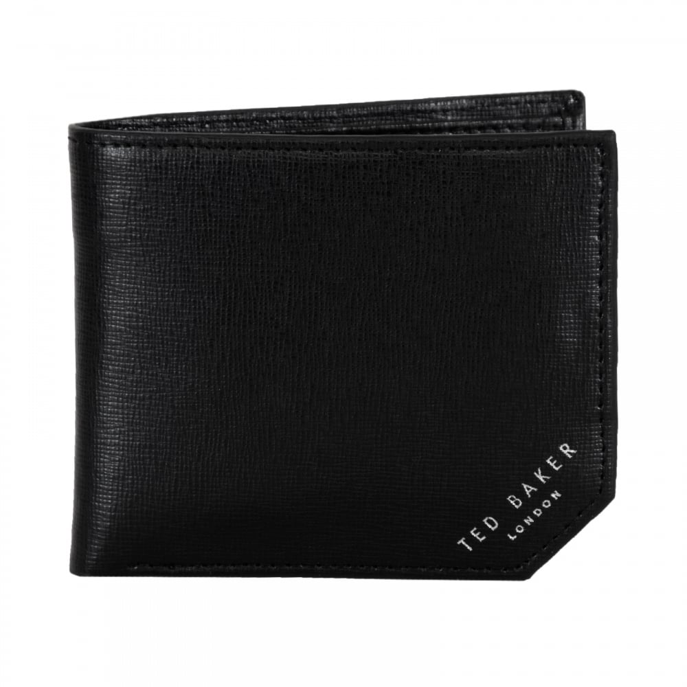 508c17c15 Ted Baker Stichup Bifold Leather Wallet (Black) - Mens from Loofes UK