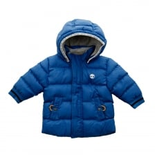 Timberland Infant Boys Puffer Jacket (Blue)