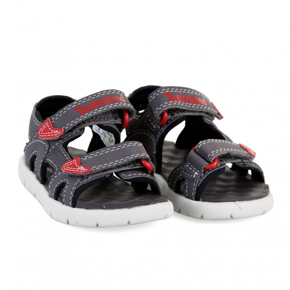 limited price shop for original top fashion Infants Perkins 2 Strap Sandals (Grey)