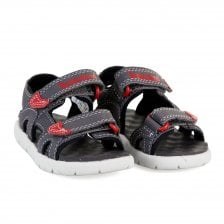 f04069cd Timberland Infants Perkins 2 Strap Sandals (Grey)