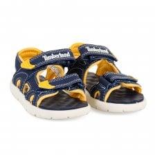 da550a1d Timberland Infants Perkins 2 Strap Sandals (Navy)