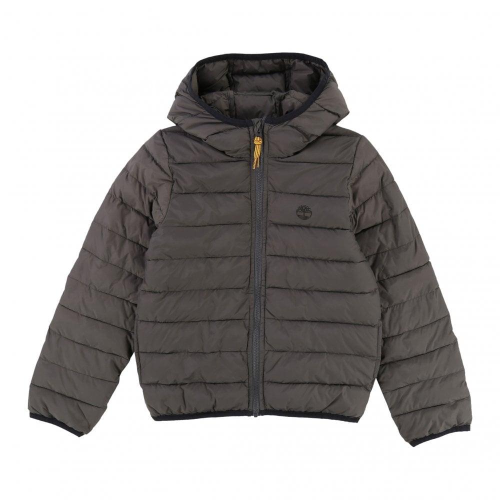 9669aeddc5a8 Timberland Timberland Juniors Travel Puffer Coat (Dark Grey)