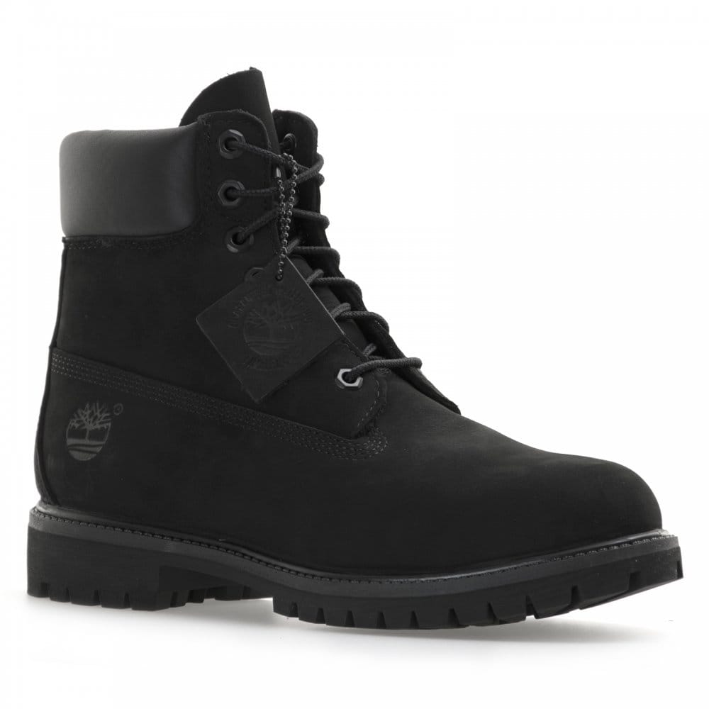 timberland mens 6 inch premium classic boots black mens from loofes uk. Black Bedroom Furniture Sets. Home Design Ideas