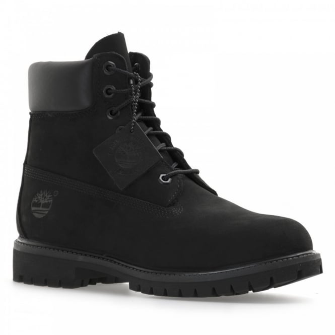 Timberland Mens 6 Inch Premium Classic Boots (Black)