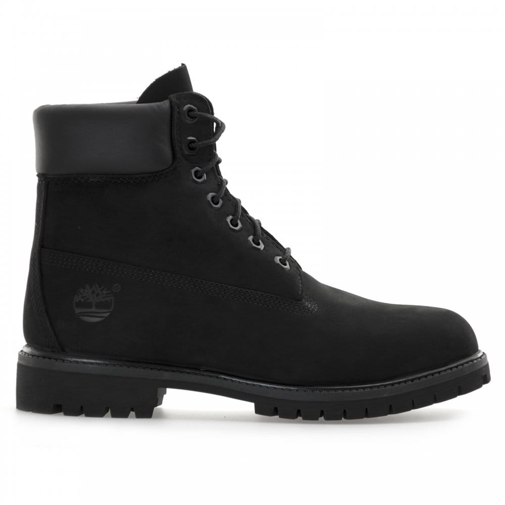 Timberland Mens 6 Inch Premium Classic Boots (Black)