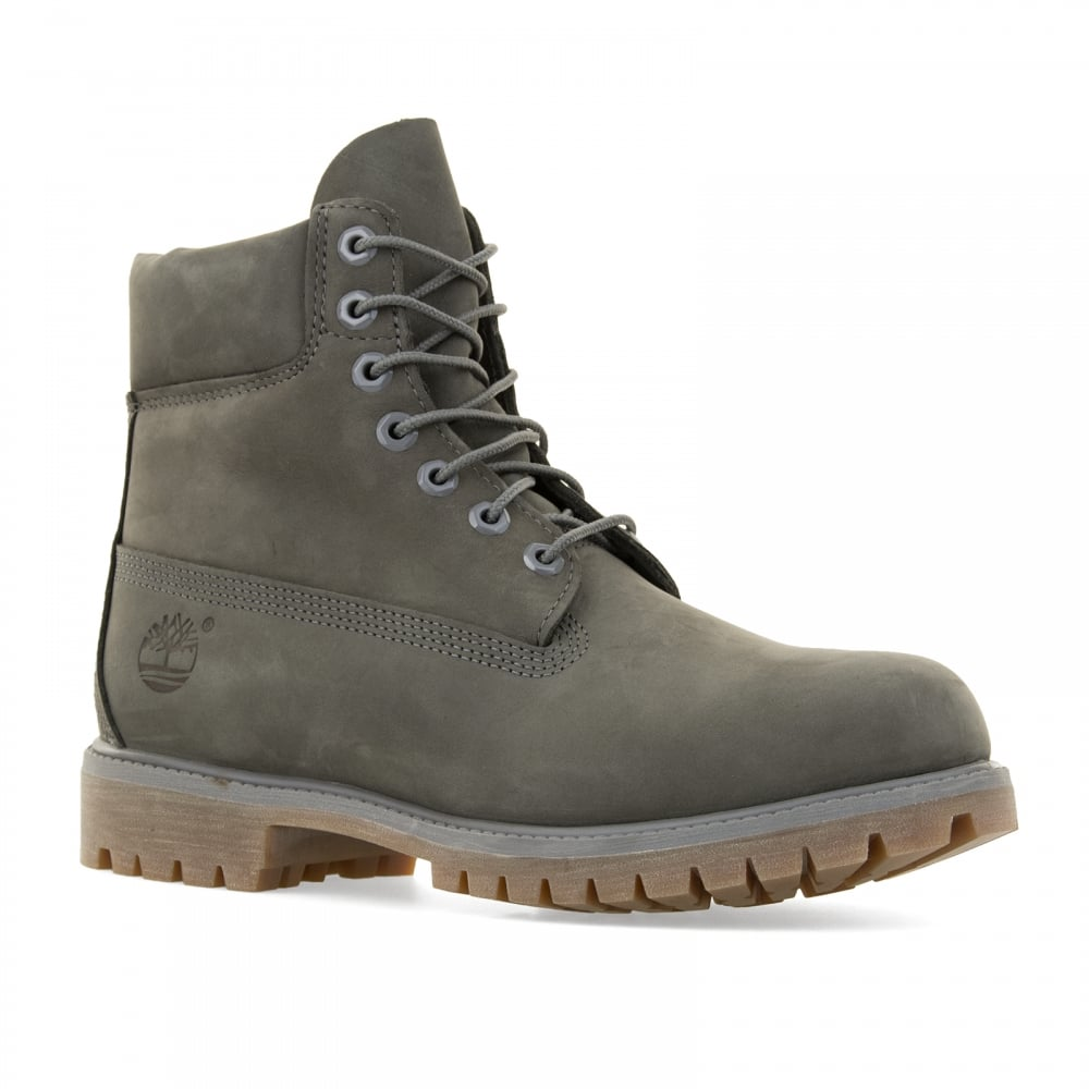 timberland mens 6 inch premium classic boots grey mens from loofes uk. Black Bedroom Furniture Sets. Home Design Ideas