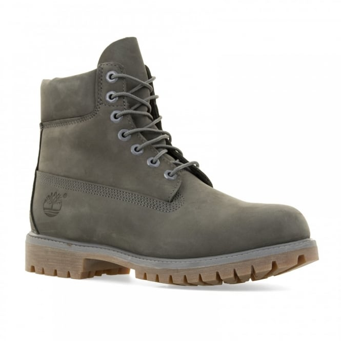 timberland mens 6 inch premium classic boots grey mens