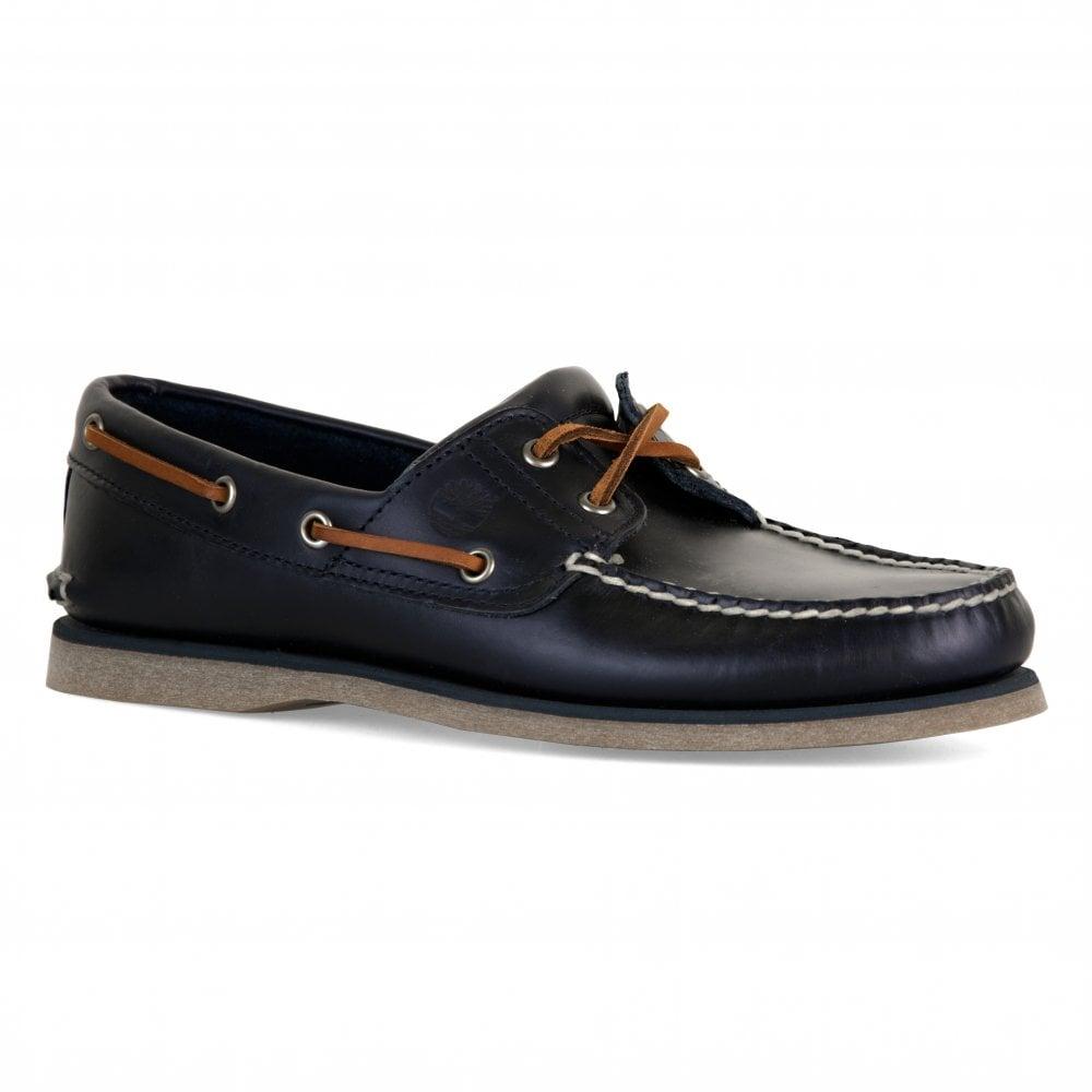 magasiner pour authentique juste prix outlet à vendre Mens Classic Boat Shoes (Navy)