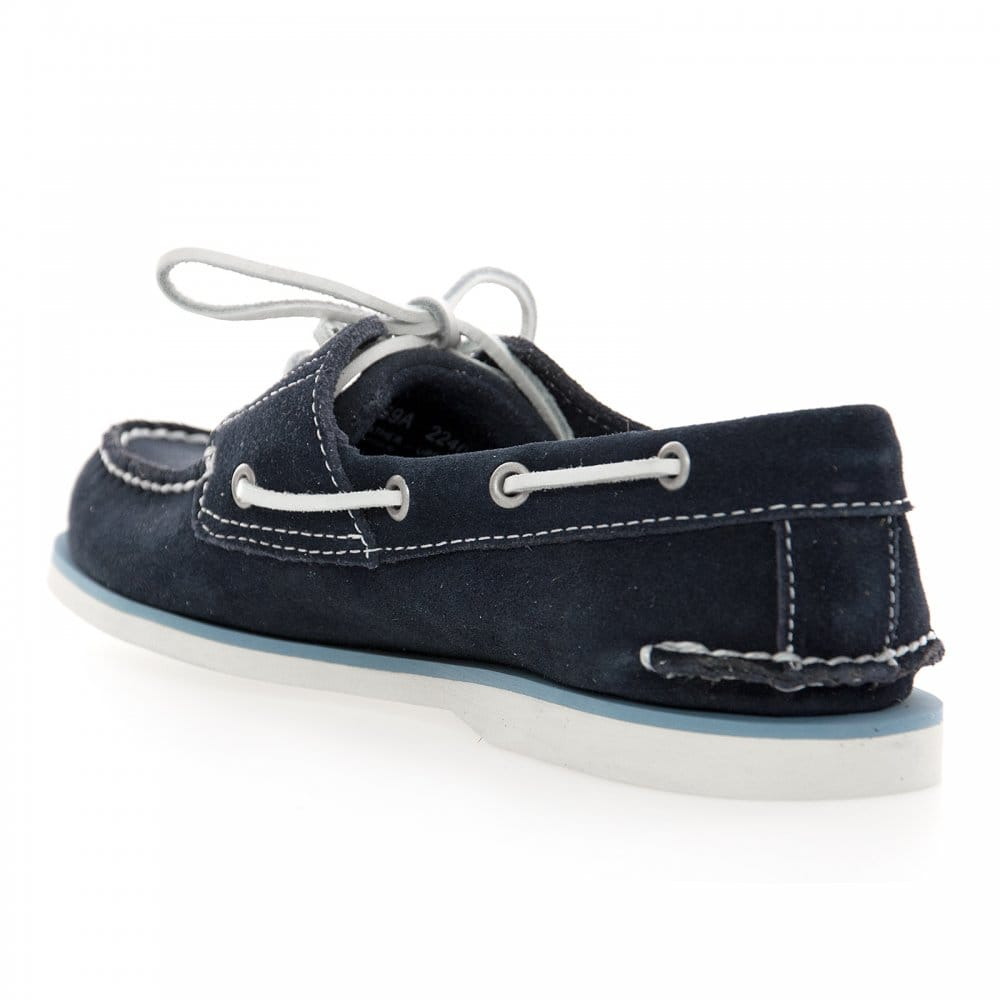 timberland timberland s classic suede boat shoe navy