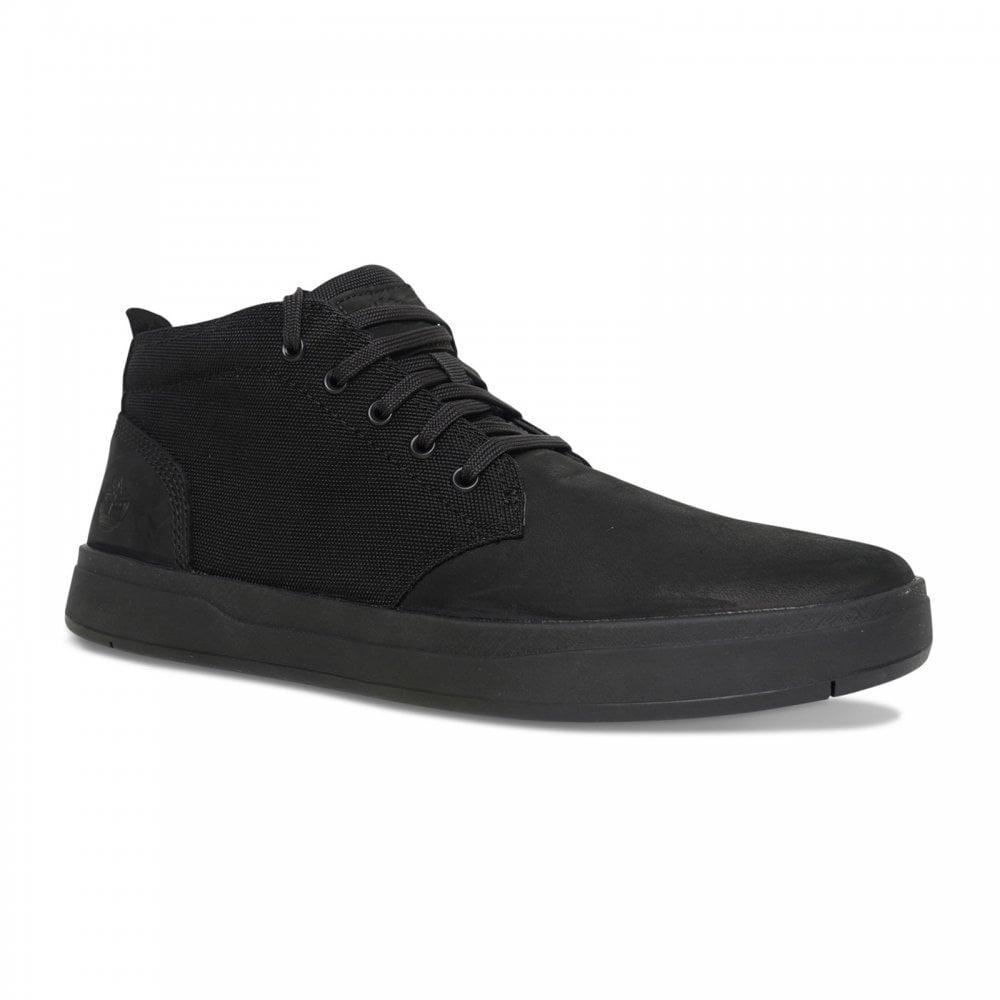 f86526a6b2b Timberland Mens Davis Square Chukka Boots (Black) - Mens from Loofes UK
