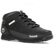Timberland Mens Euro Sprint Boot (Nubuck Black)