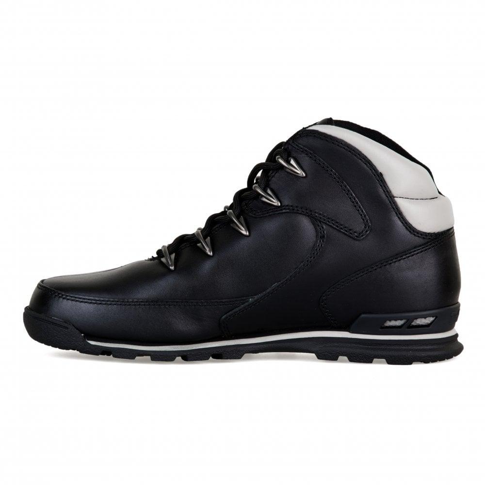 0e82e521859 Timberland Timberland Mens Eurorock Hiker Boots (Black)