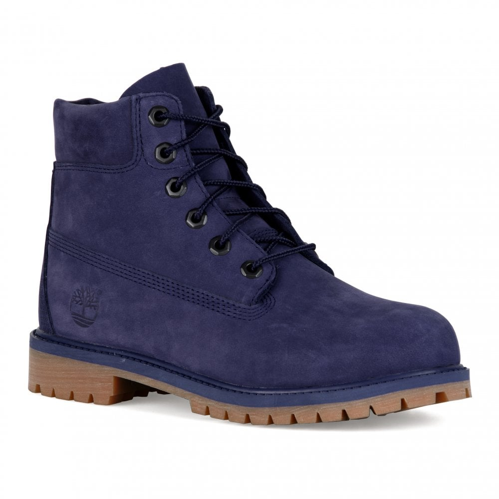 huge selection of 167c9 fe55c Timberland Youths 6 quot  Classic Boots (Blue)