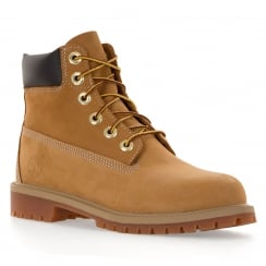 Timberland Youths 6 Inch Classic Boots (Wheat)