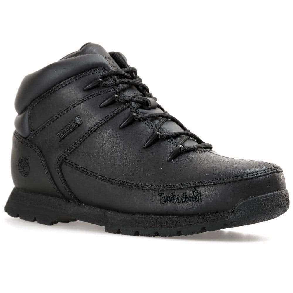 fa8f0a12c7ff Timberland Youths Euro Sprint Boots (Black) - Kids from Loofes UK