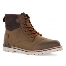 Toms Mens Ashland Waterproof Boots (Brown)