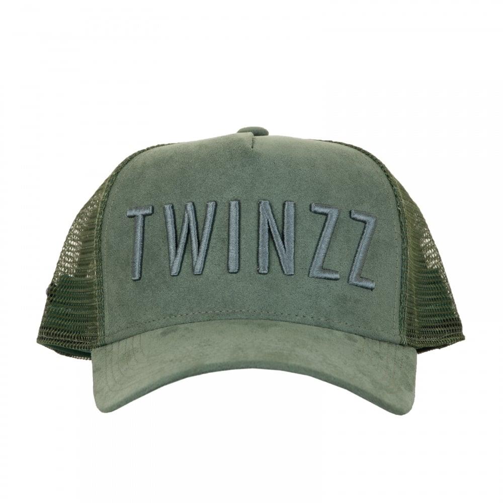 Twinzz Twinzz Mens 3D Mesh Trucker Cap (Olive) cfdeb129416