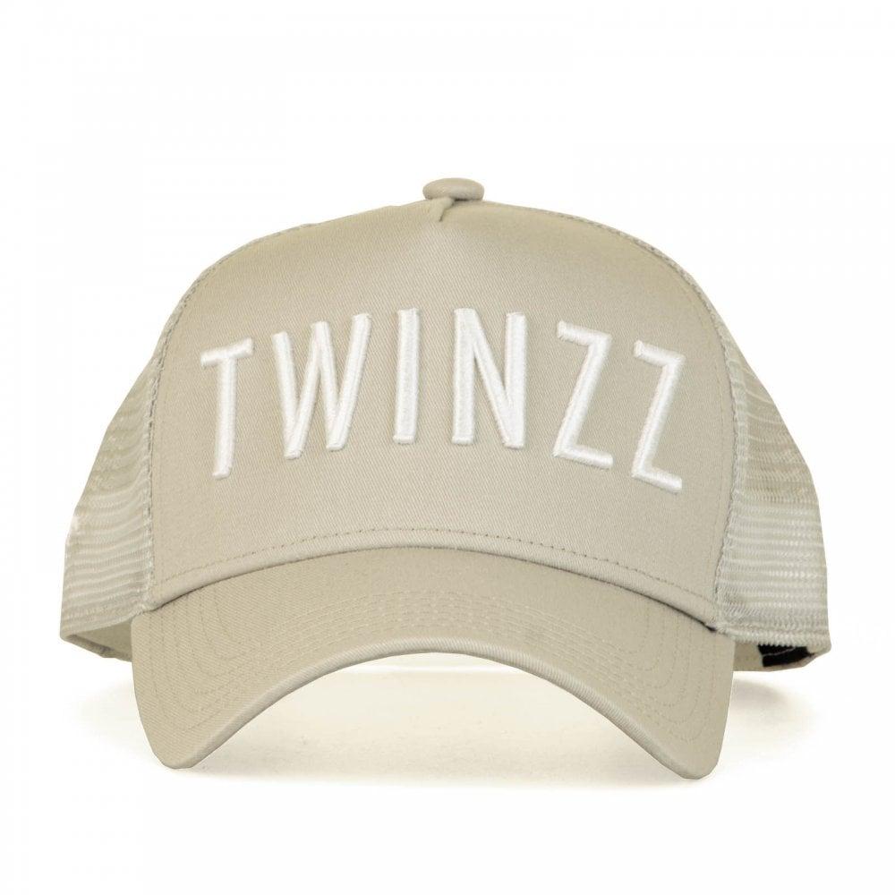 b4ebdae7 Twinzz Mens 3D Mesh Tucker Cap (Grey/White) - Mens from Loofes UK