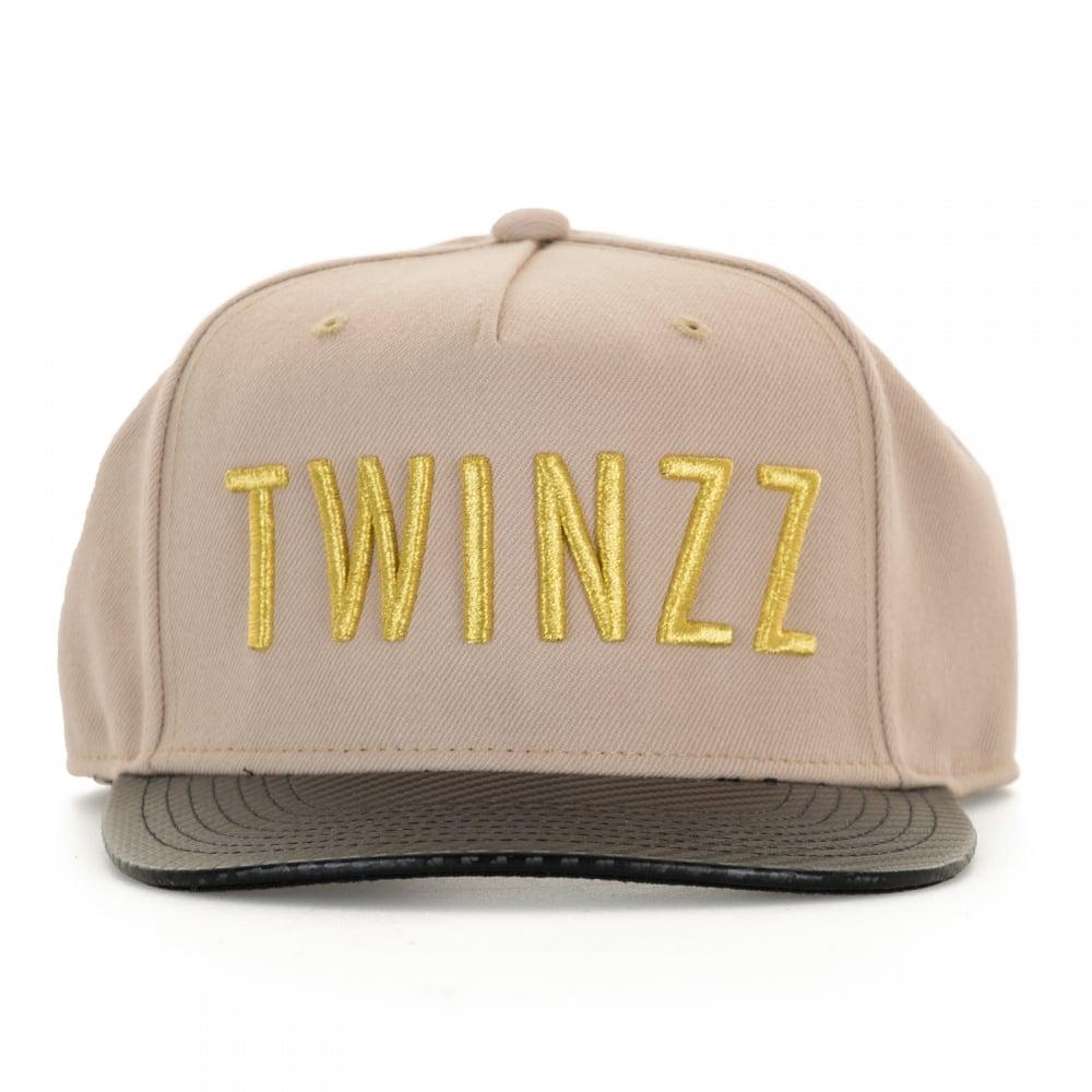 Twinzz Mens Carbon Snap Back Cap (Beige) - Mens from Loofes UK bec6c964d8