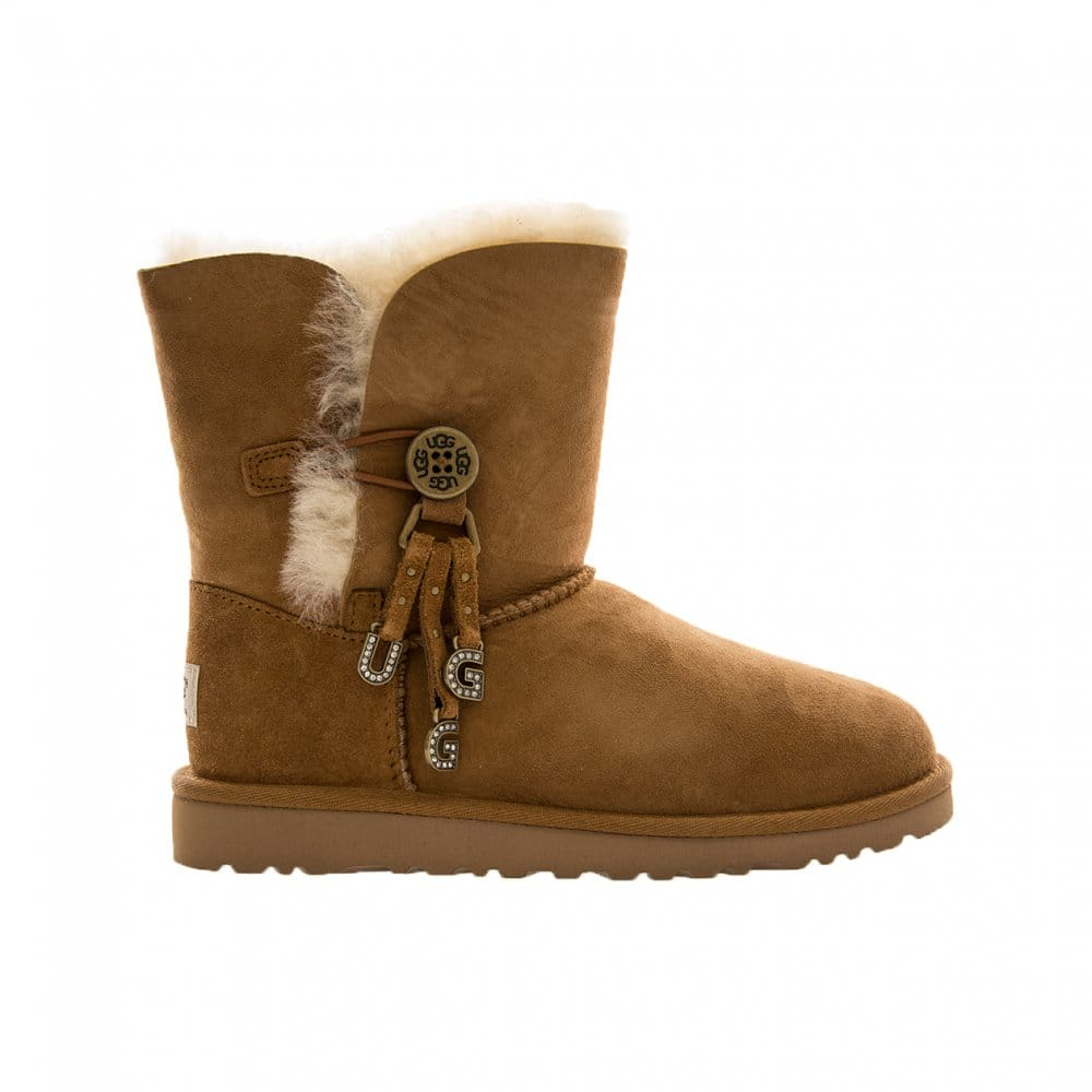ugg bailey letter charms boots ugg from loofes uk