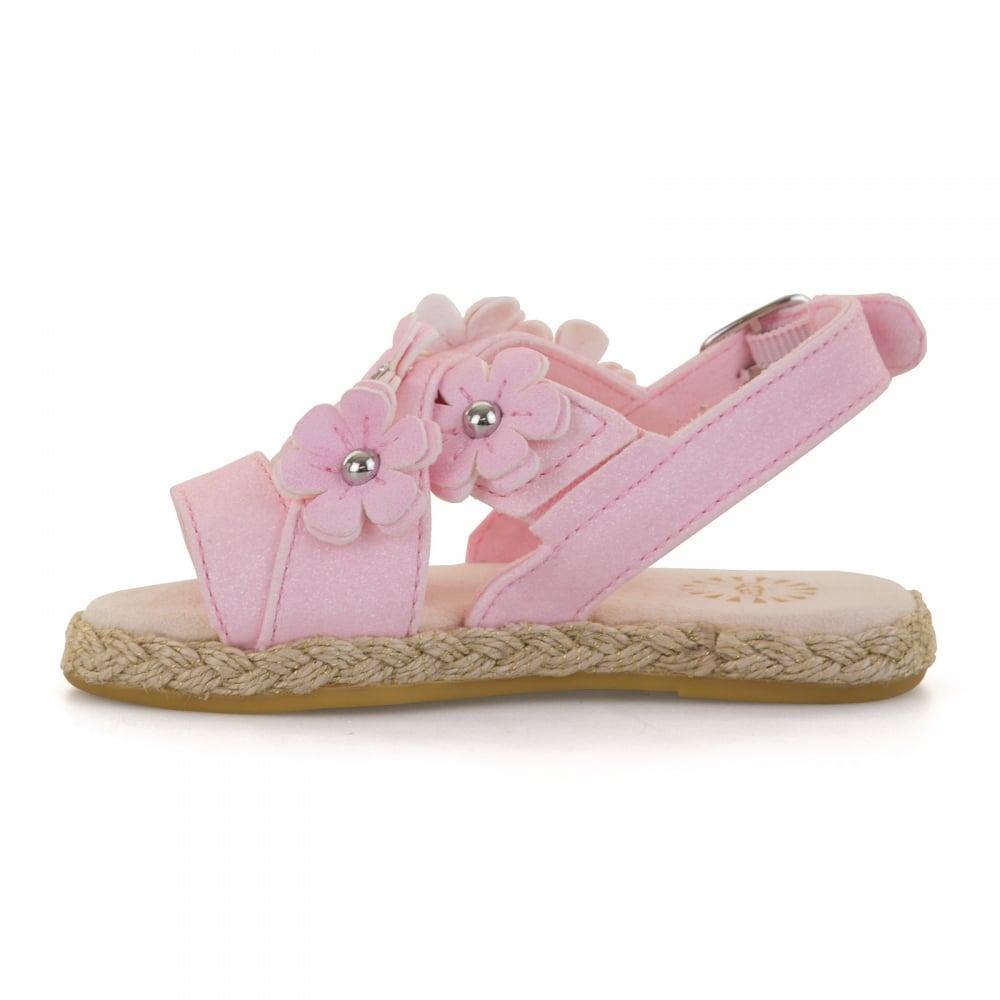 97e213cf572 UGG UGG Infants Allairey Sparkles 118 Sandals (Pink)