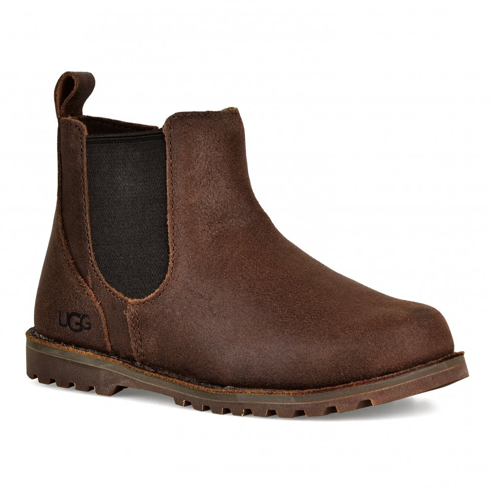 c1d011ade7d Infants Callum Ankle Chelsea Boots (Chocolate Brown)