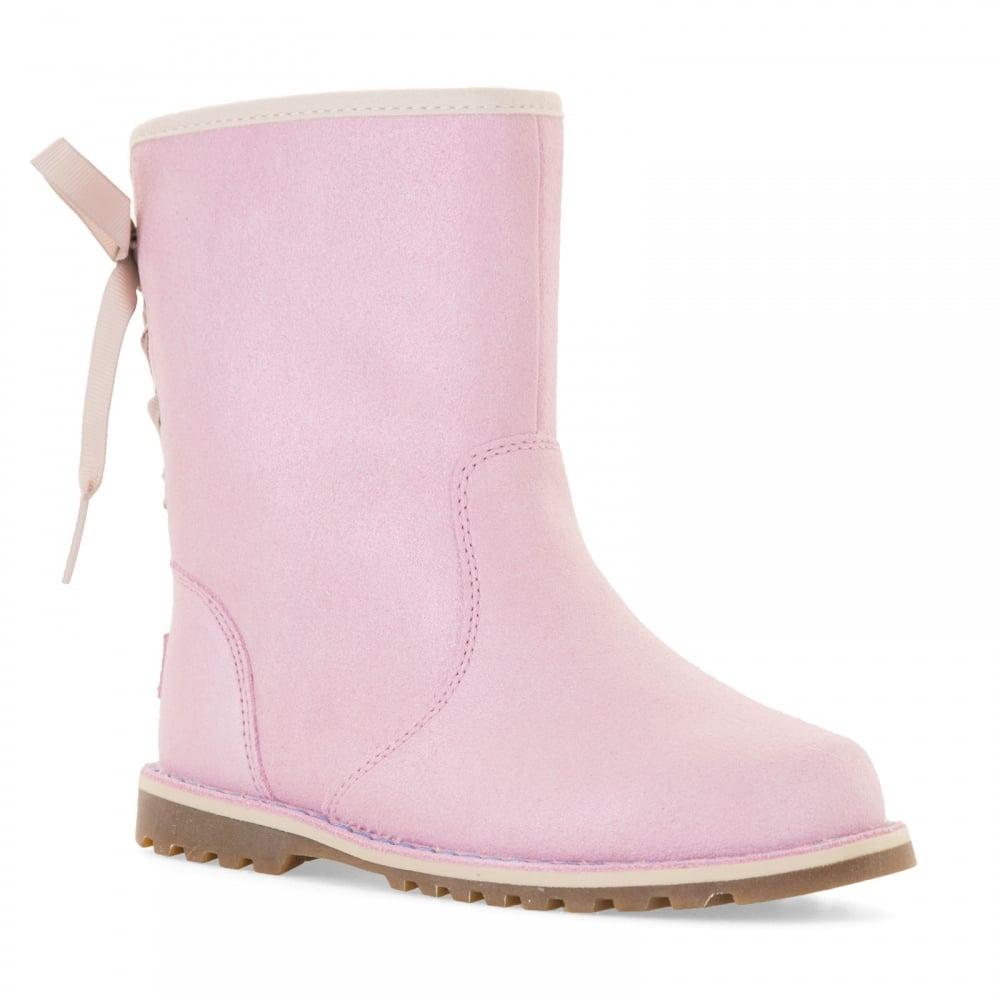 pink metallic uggs