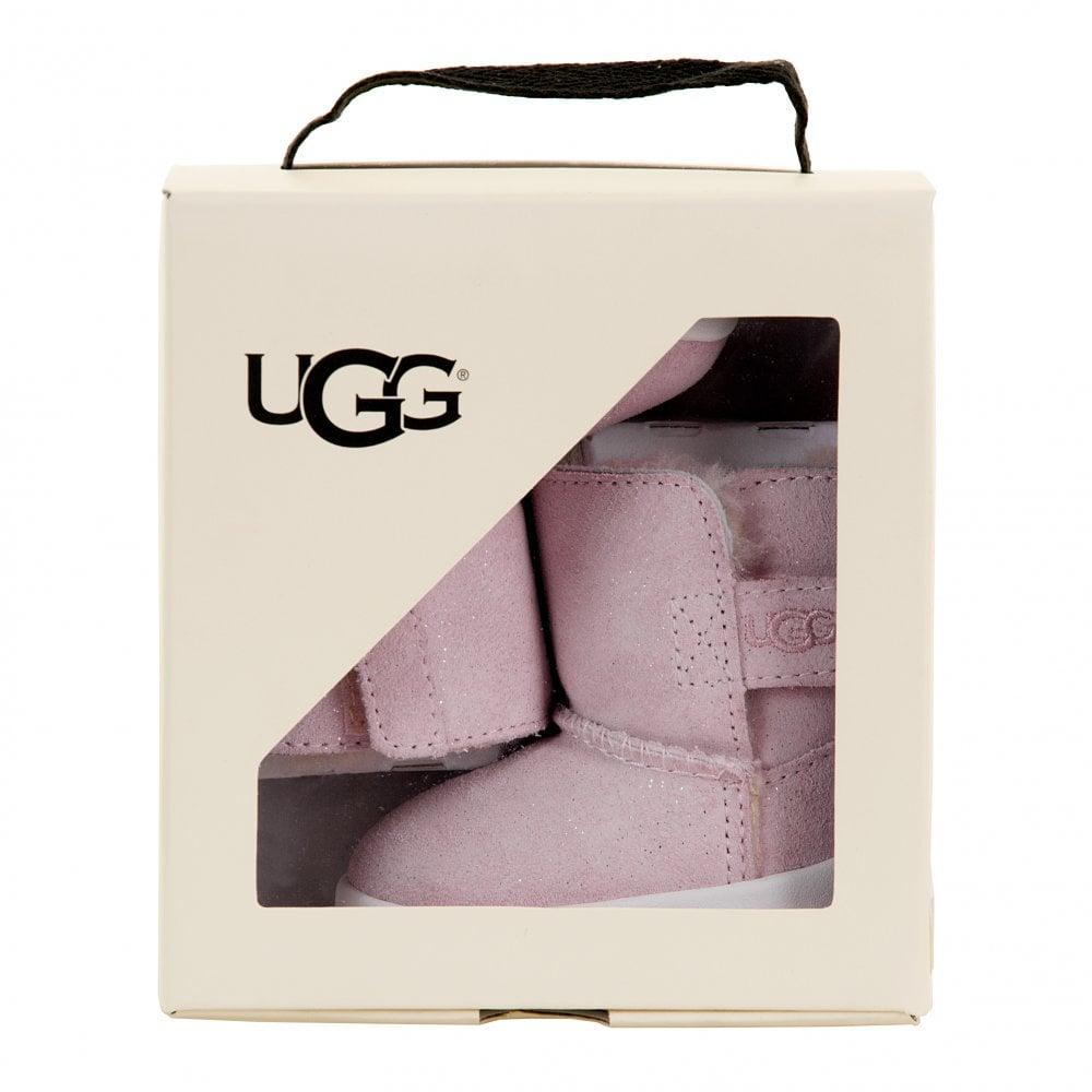 5888b2db602 UGG UGG Infants Keelan Sparkle Babies Boots (Pink)