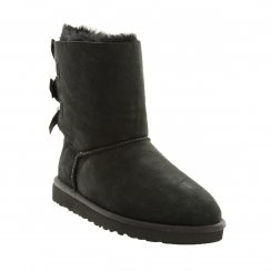 Ugg Juniors Bailey Bow Boots (Black)