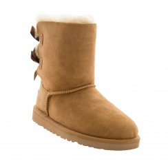 Ugg Juniors Bailey Bow Boots (Chestnut)