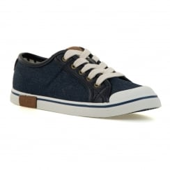 UGG Juniors Broderick Trainers (Denim)