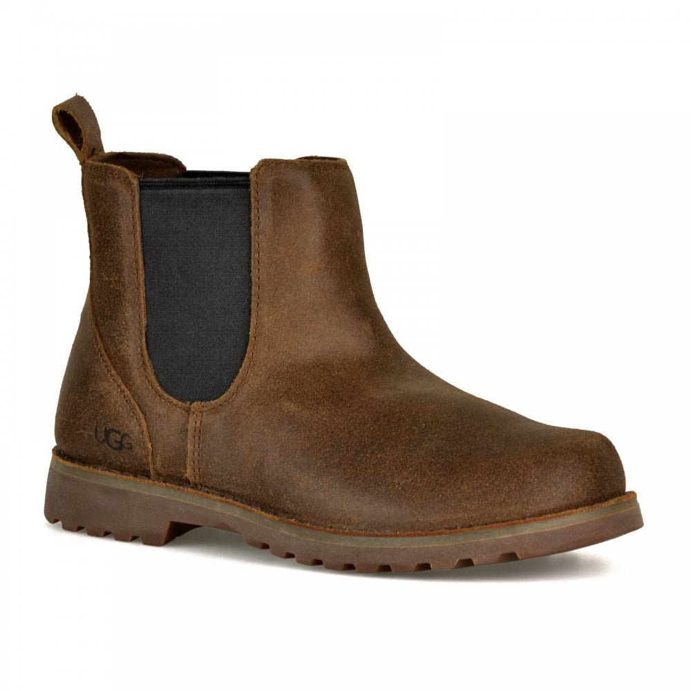 b563049567a Juniors Callum Ankle Chelsea Boots (Chocolate)
