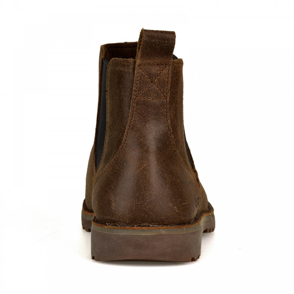 534292fa168 UGG UGG Juniors Callum Ankle Chelsea Boots (Chocolate)