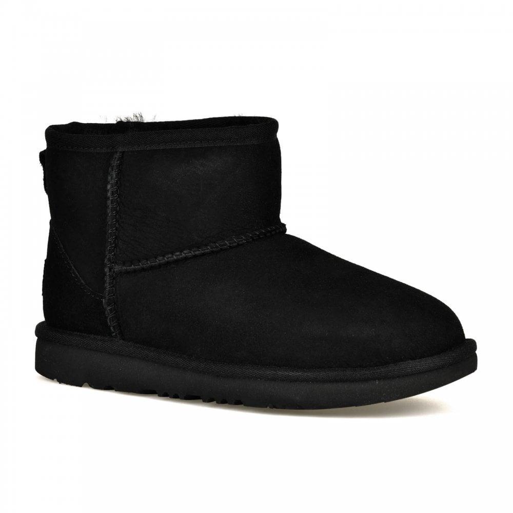 def89ceb4f0 UGG UGG Juniors Classic Mini II Boots (Black)